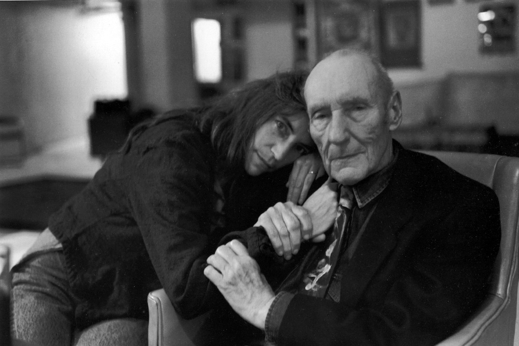 patti-smith.william-burroughs.by-allen-ginsberg