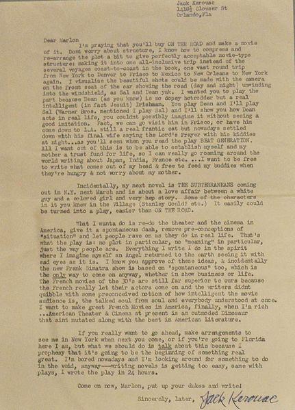431px-Letter_by_Jack_Kerouac_to_Marlon_Brando_(1957)