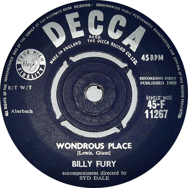 billy-fury-wondrous-place-decca